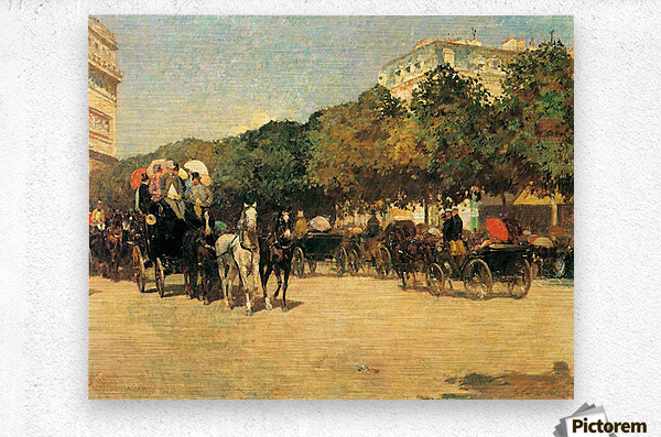 The day of the Grand Prize -2- by Hassam  Metal print