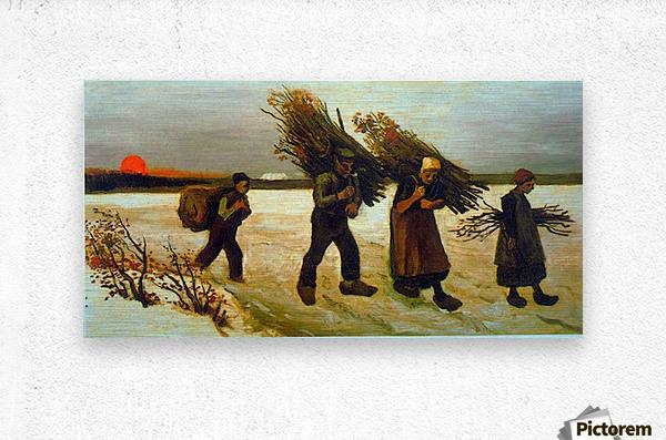 Apples by Van Gogh  Metal print