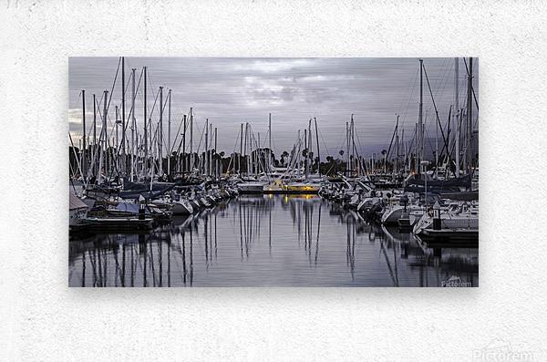 Boat Mess  Metal print