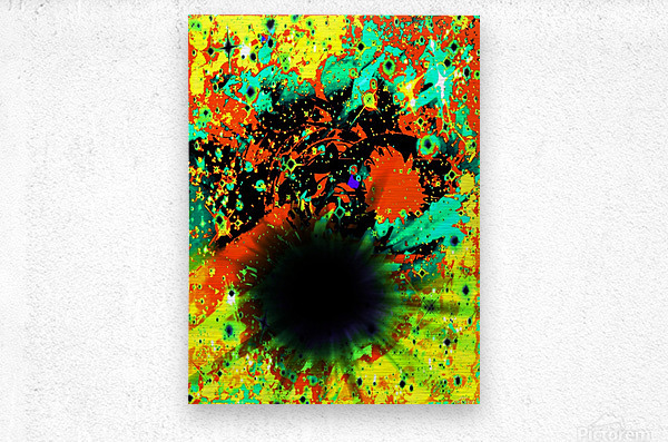 Blight  Metal print