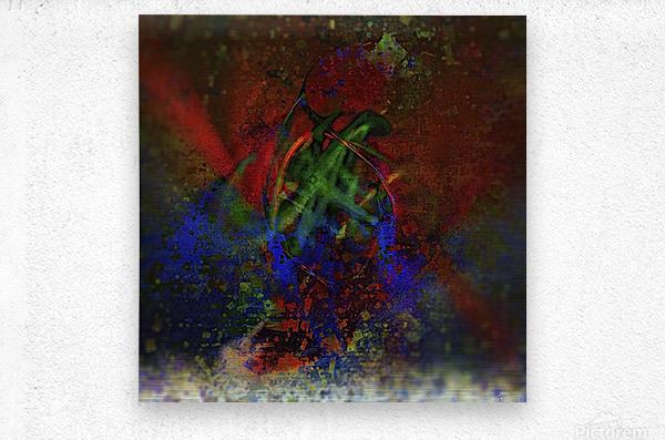 Pollock  Metal print