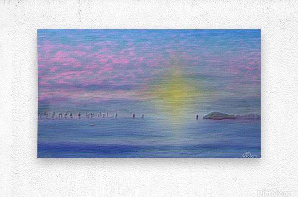 Laguna Di Venezia  Metal print