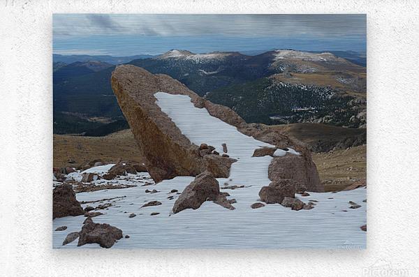 Pikes Peak Colorado   Metal print