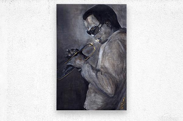 Jazz_High_Res  Metal print