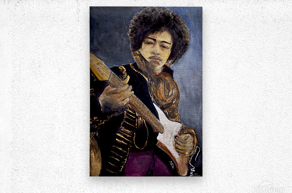 Jimi_High_Res  Metal print