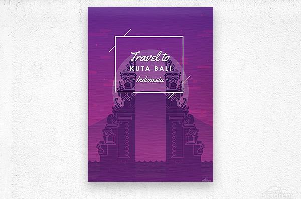 Travel To Kuta Bali   Indonesia  Metal print