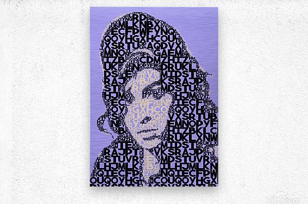 Amy Winehouse2  Metal print