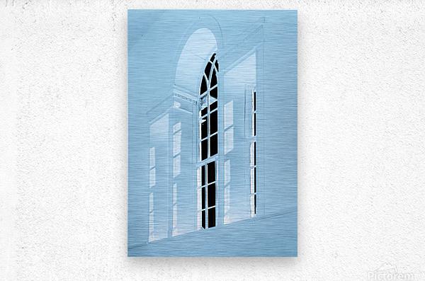 Acworth Church 2  Metal print