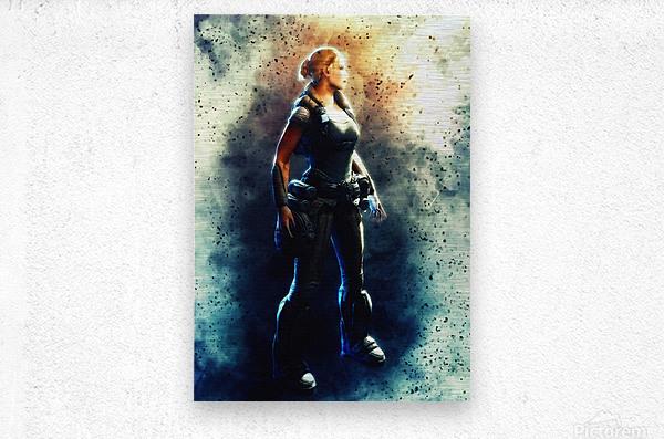 Anya Stroud  Metal print