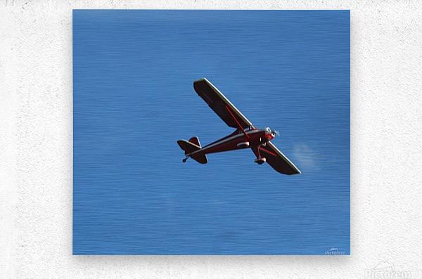 Flyover the  Prairie  Metal print
