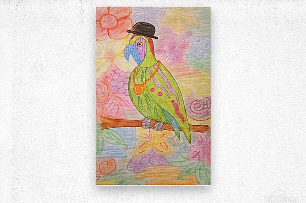aviary image 1578372636866[1]  Metal print