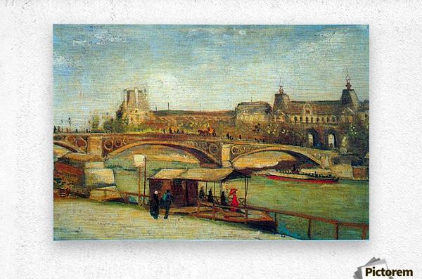 Bologne by Van Gogh  Metal print