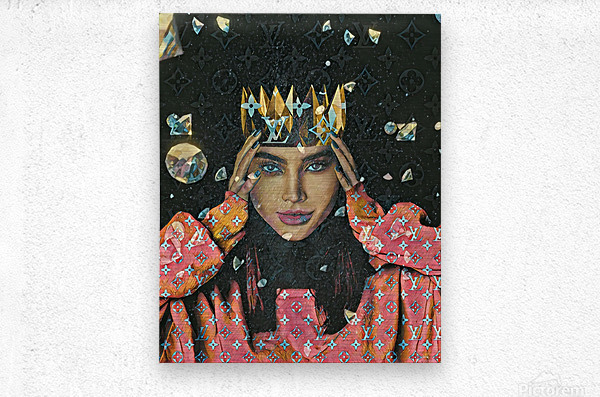 TheQueen  Metal print