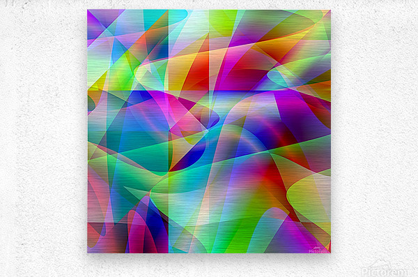 A.P.Polo - Abstractum 3.2  Metal print