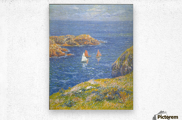 Calm Seas by Moret  Metal print