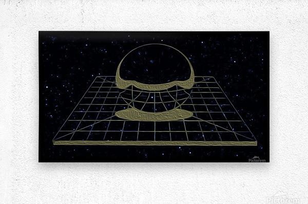 Simple Reality  Metal print
