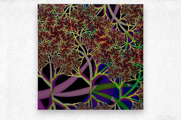 Fractal_Vegetation_Theme  Metal print