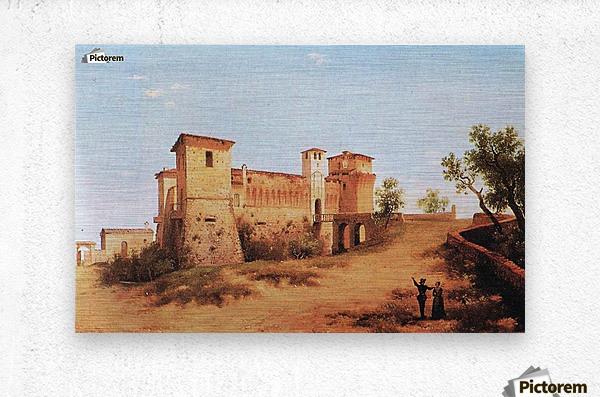 Castello di Felino  Metal print