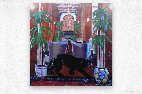 Bengal Lounge  Metal print