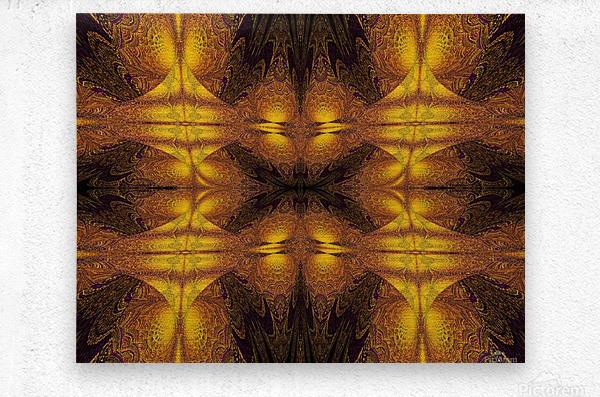 Spiritual Sunshine  21  Metal print