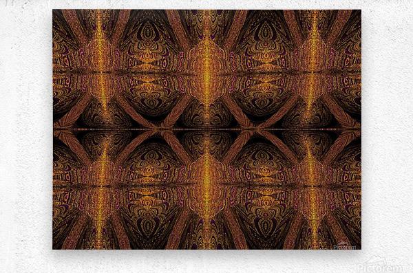 Spiritual Sunshine  28  Metal print