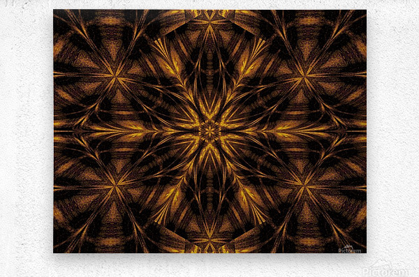 Spiritual Sunshine  33  Metal print