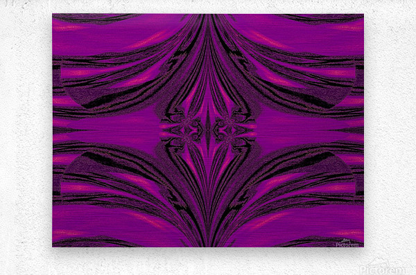 Purple Desert Song 6  Metal print