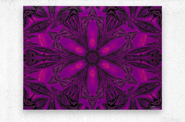 Purple Desert Song 16  Metal print