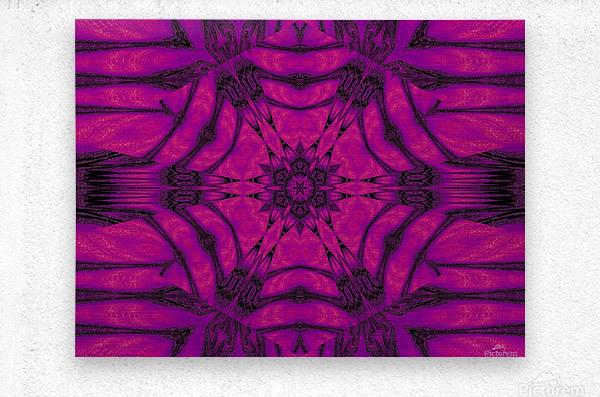 Purple Desert Song 19  Metal print