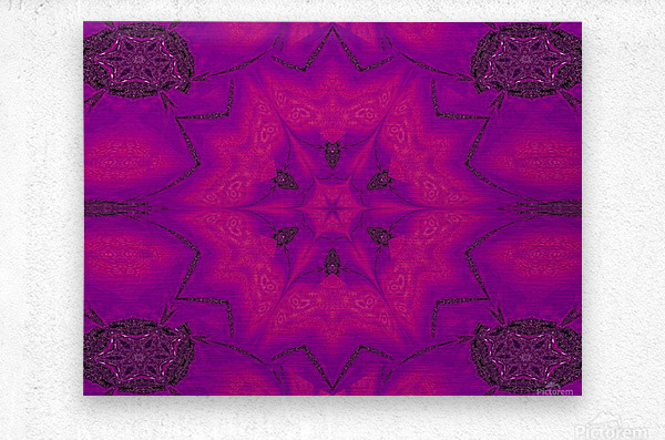 Purple Desert Song 29  Metal print
