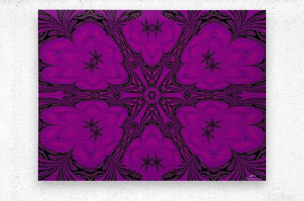 Purple Desert Song 47  Metal print