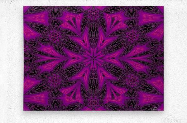 Purple Desert Song 50  Metal print