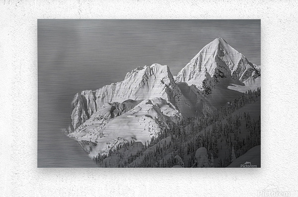 whitewater mountain 1 of 1  Metal print