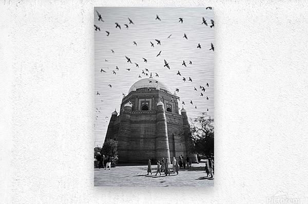 The Tomb of Shah Rukn-e-Alam in Multan Pakistan  Metal print