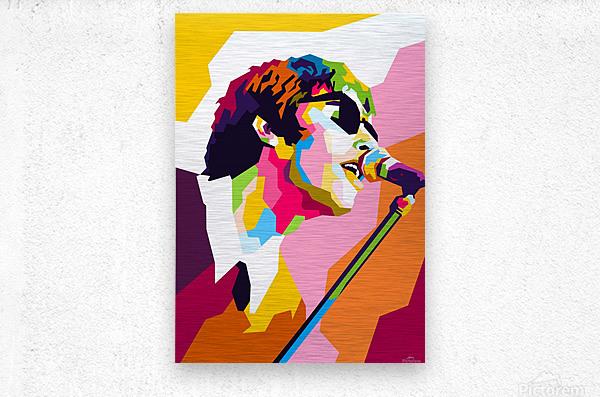 Liam Gallagher  Metal print