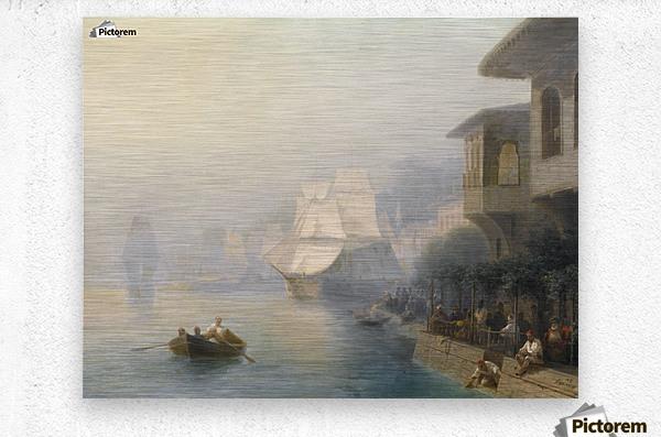 View of the Bosporus  Metal print