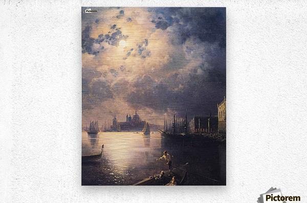 Byron in Venice  Metal print