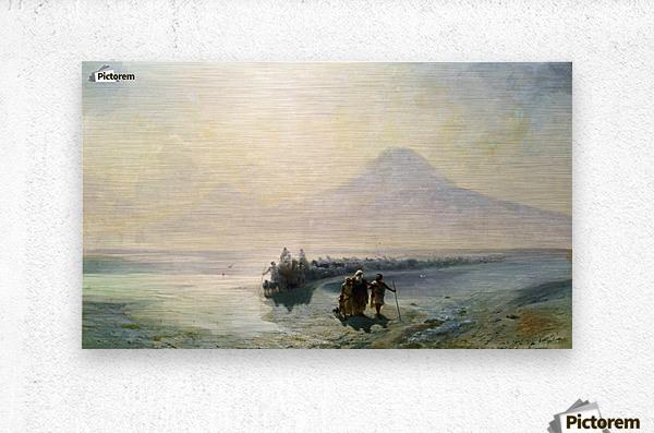 Dejection of Noah from mountain Ararat  Metal print