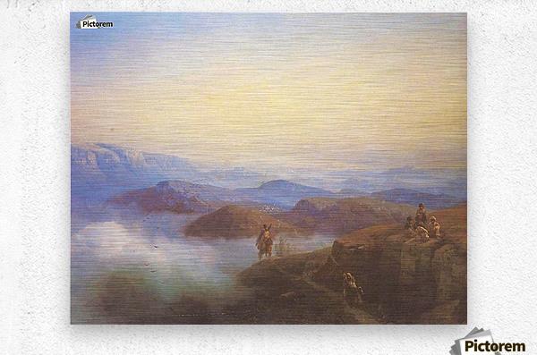 Range of the Caucasus mountains  Metal print