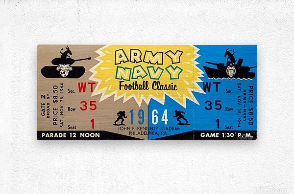 1964 Army vs. Navy  Metal print