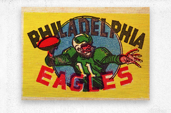 1970s_National Football League_Philadelphia Eagles_Row One Brand  Metal print