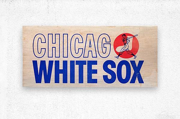 1962 Chicago White Sox Art  Metal print