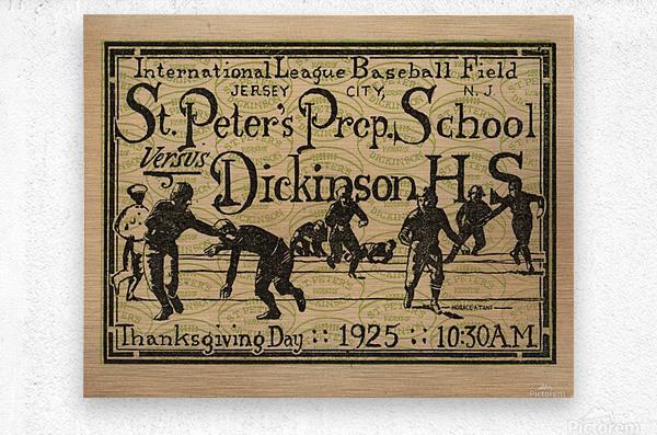 1925 St. Peters Prep  Metal print