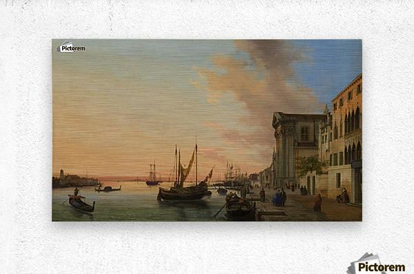 Venice Bay  Metal print