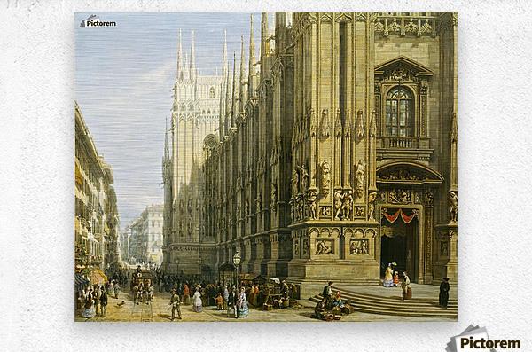 Il Duomo di Milano  Metal print