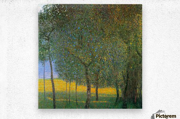 Fruit Trees by Klimt  Metal print