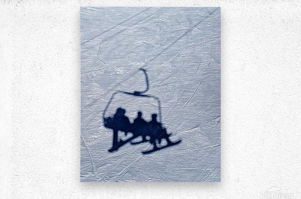 Lift chair  Metal print