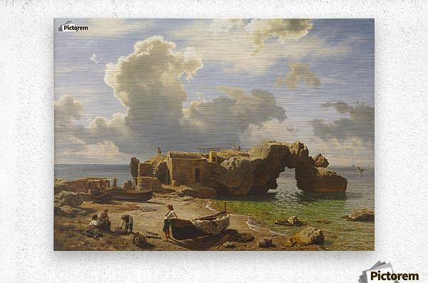 Marina Piccola Bay, Capri  Metal print