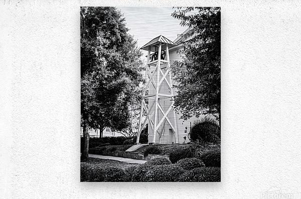 The Chapel Bell University of Georgia   Athens GA 9568  Metal print