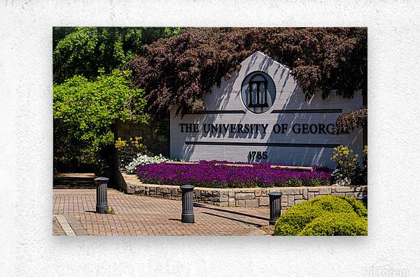 University of Georgia   Athens GA 07074  Metal print